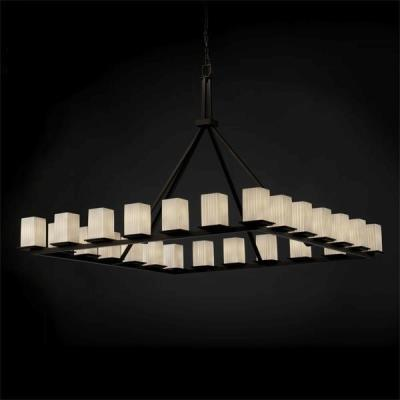 Justice Design FSN-8616 Montana 2Four Light Ring Chandelier