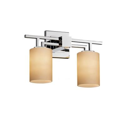 "Justice Design FSN-8702 Fusion - 16"" Two Light Bath Bar"