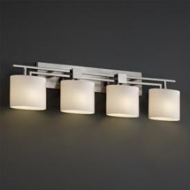 Justice Design FSN-8704 Aero 4-Light Bath Bar
