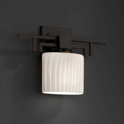 "Justice Design FSN-8711 Fusion - 14.25"" One Light Wall Sconce"