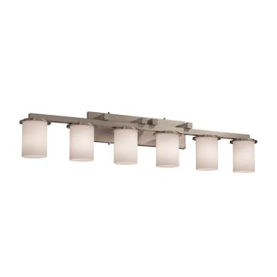 Justice Design FSN-8786 Dakota 6-Light Bath Bar