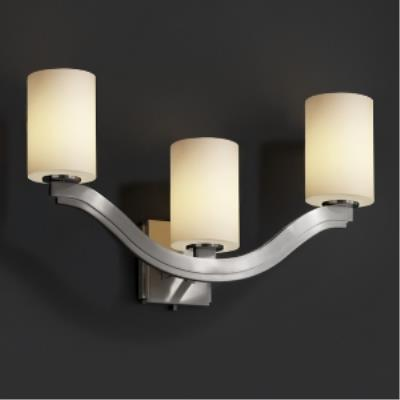"Justice Design FSN-8976 Fusion - 25.5"" Three Light Wall Sconce"