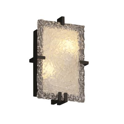 Justice Design GLA-5551 Veneto Luce - Two Light Rectangular ADA Wall Sconce