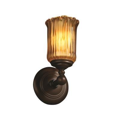 Justice Design GLA-8521 Tradition One Light Wall Sconce