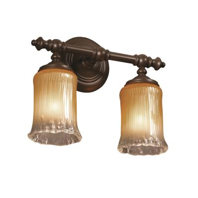 Justice Design GLA-8522 Tradition Two Light Bath Bar