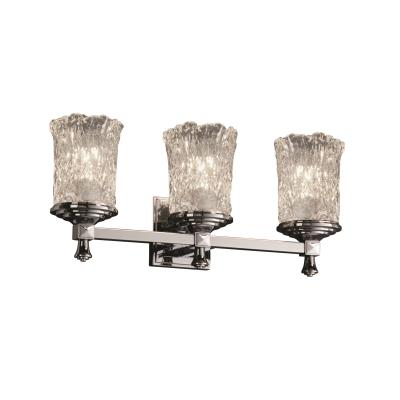 Justice Design GLA-8533 Deco - Three Light Bath Bar