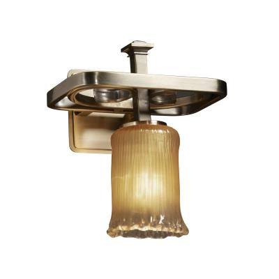 Justice Design GLA-8561 Arcadia One Light Wall Sconce
