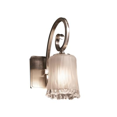 Justice Design GLA-8571 Victoria One Light Wall Sconce