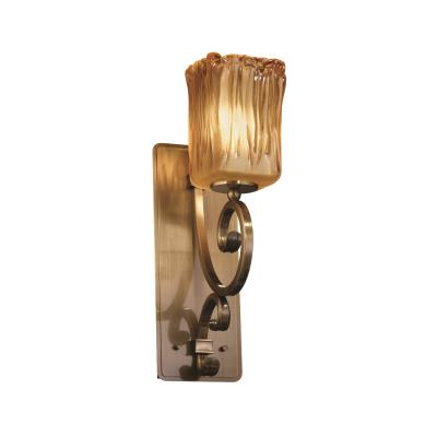 Justice Design GLA-8578 Victoria One Light Wall Sconce (Medium)