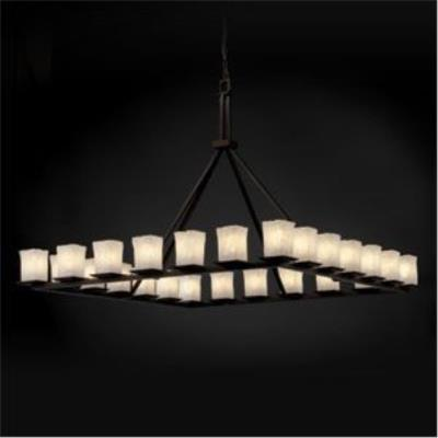 Justice Design GLA-8616 Montana - Twenty-Four Light Ring Chandelier