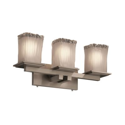 Justice Design GLA-8673 Montana - Three Light Bath Bar