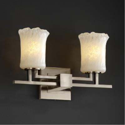 Justice Design GLA-8702 Aero Two Light Bath Bar