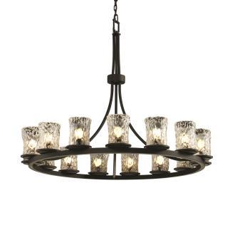 Justice Design GLA-8715 Dakota - Fifteen Light Ring Chandelier