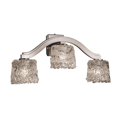Justice Design GLA-8976 Bend Three Light Wall Sconce (Style 2)