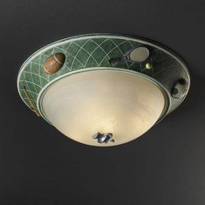 Kid's Room - Three Light Flush Mount
