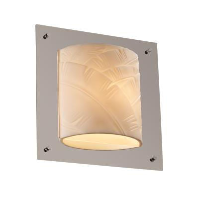 Justice Design PNA-5561 Framed Square 4-Sided Wall Sconce (ADA)