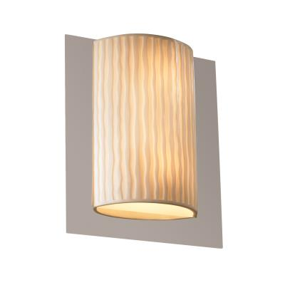 Justice Design PNA-5562 Framed Rectangle 3-Sided Wall Sconce (ADA)
