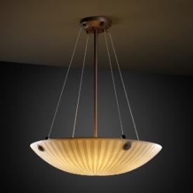 Justice Design PNA-9662 Porcelina - Six Light Bowl Pendant