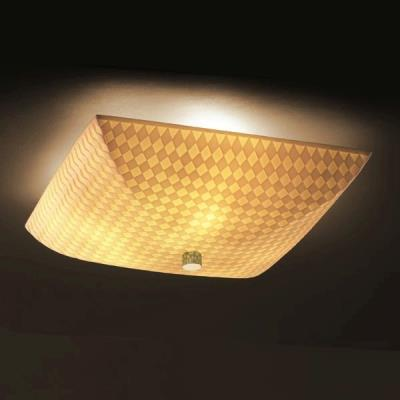 Justice Design PNA-9671 Porcelina - Three Light Semi-Flush Mount