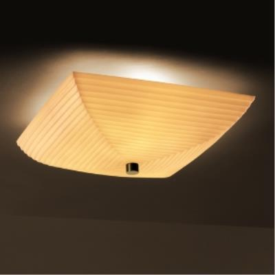 Justice Design PNA-9672 Porcelina - Six Light Semi-Flush Mount
