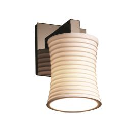 Justice Design POR-8921 Limoges - One Light Wall Sconce