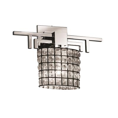 Justice Design WGL-8711 Aero ADA One Light Wall Sconce