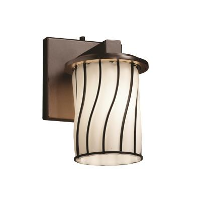 Justice Design WGL-8771 Dakota One Light Wall Sconce