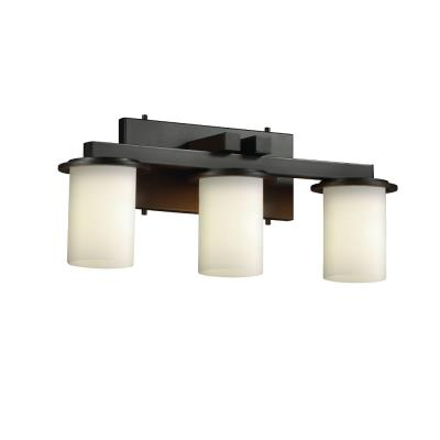 Justice Design FSN-8773 Dakota 3-Light Bath Bar