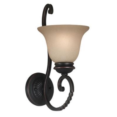 Kenroy Lighting 10192ORB Oliver 1 Light Wall Sconce