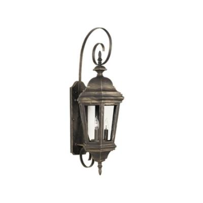 Kenroy Lighting 16314AP Estate 3 Light Wall Lantern
