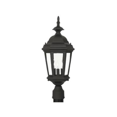 Kenroy Lighting 16316BL Estate 3 Light Post Lantern