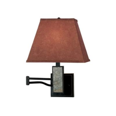 Kenroy Lighting 20382SL Dakota Wall Swing Arm Lamp