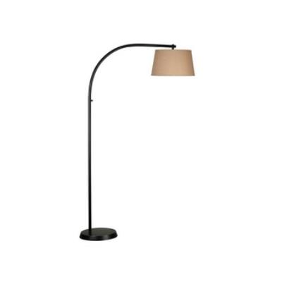 Kenroy Lighting 20953ORB Sweep - One Light Floor Lamp