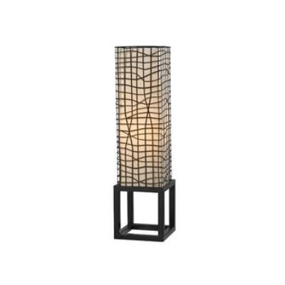 Kenroy Lighting 21068BRZ Fortress - One Light Table Lamp