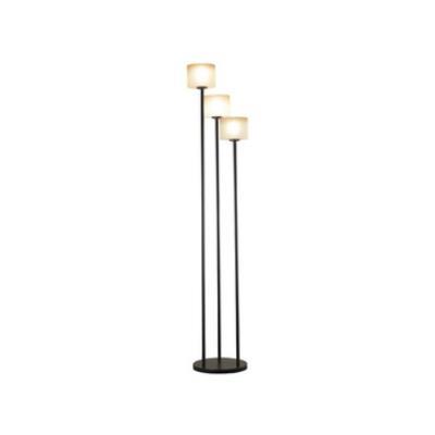Kenroy Lighting 21377ORB Matrielle 3 Light Torchiere Floor Lamp