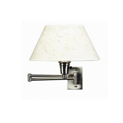 Kenroy Lighting 30110BS Simplicity Swing Arm Wall Lamp