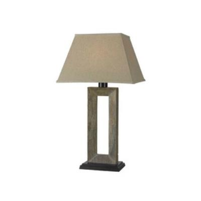 Kenroy Lighting 30515SL Egress - One Light Outdoor Table Lamp