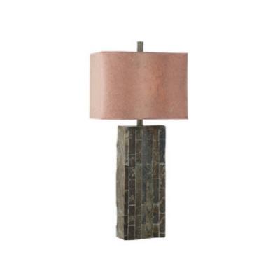 Kenroy Lighting 30894SL Ripple Slatetable Lamp