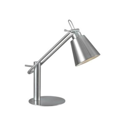 Kenroy Lighting 32004BS Nelson - One Light Desk Lamp