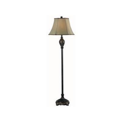 Kenroy Lighting 32058BZG Contessa - One Light Floor Lamp