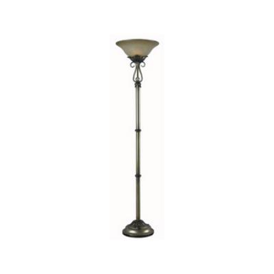 Kenroy Lighting 32068AGS Martinson - One Light Torchiere