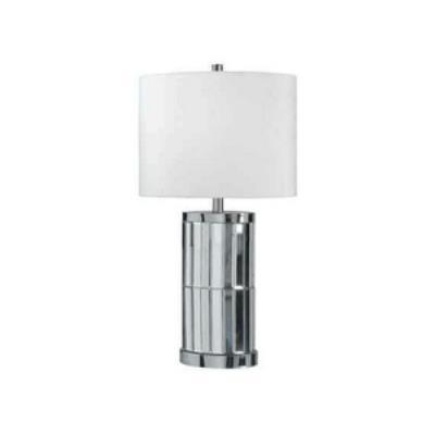Kenroy Lighting 32097CHM Lustre - One Light Table Lamp