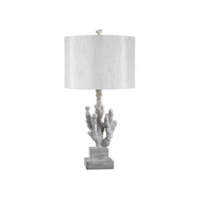 Kenroy Lighting 32166WH Coral - One Light Table Lamp