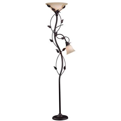 Kenroy Lighting 32241ORB Ashlen - Two Light Mother and Son Torchiere