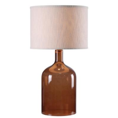 Kenroy Lighting 32261AMB Capri - One Light Table Lamp