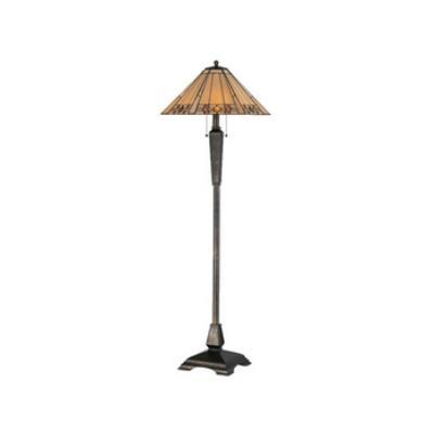 Kenroy Lighting 33043BRZ Willow Floor Lamp