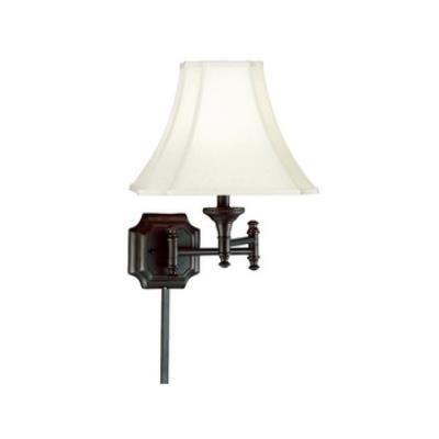 Kenroy Lighting 33054BBZ Wentworth Swing Arm Wall Lamp