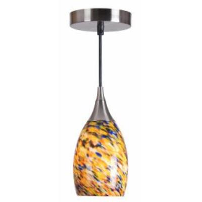 Kenroy Lighting 44301BS-CONF Medici Mini Pendant