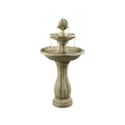 "Kenroy Lighting 50194SS Arcade - 44"" Outdoor Floor Fountain"