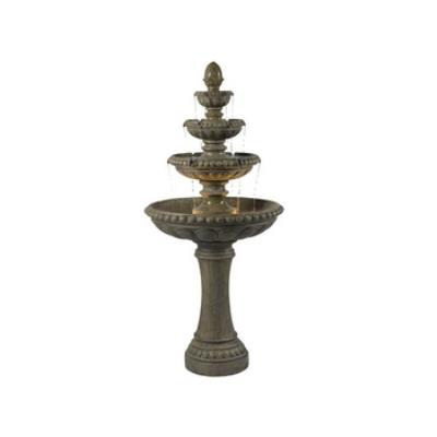 Kenroy Lighting 50231TE Rialto - Two Light Outdoor Floor Fountain